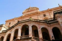Vieux sanatorium en Sicile Photographie stock