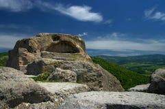 Vieux sanctuaire thracian photos stock