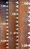 Vieux scaleplate Image libre de droits