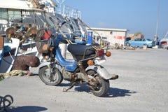 Vieux scooter Photos stock