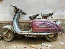 Vieux scooter Images libres de droits