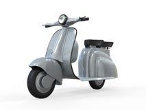 Vieux scooter de cru Image stock