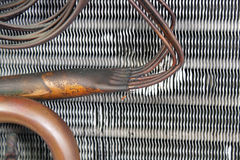 Vieux serpentin d'évaporateur (13) Photos libres de droits