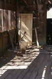 Vieux Shack Interioir Image libre de droits