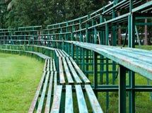 Vieux siège de sport. Photo stock