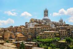 Vieux Sienna Photographie stock libre de droits