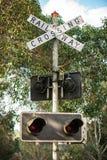 Vieux signaux ferroviaires Photographie stock libre de droits