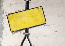 Vieux signe Images libres de droits