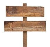 Vieux signe en bois. images libres de droits