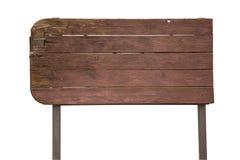Vieux signe en bois Image stock