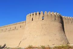 Vieux site oriental de reconstruction de bâtiment Images libres de droits