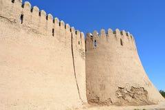 Vieux site oriental de reconstruction de bâtiment Image stock
