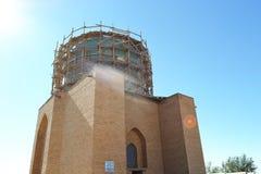 Vieux site oriental de reconstruction de bâtiment Image libre de droits