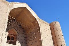 Vieux site oriental de reconstruction de bâtiment Photo libre de droits