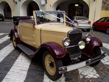 Vieux Skoda Images stock