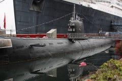Vieux sous-marin de Russe de scorpion Photographie stock libre de droits