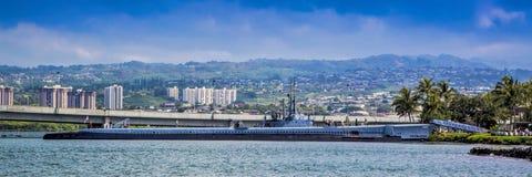 Vieux sous-marin retiré Photographie stock libre de droits
