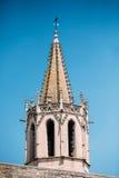Vieux St chrétien antique de temple martial à Avignon, France images stock