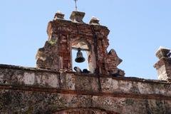 Vieux stationnement de pigeon de San Juan Photo libre de droits