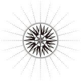Vieux symbole de carte Image stock