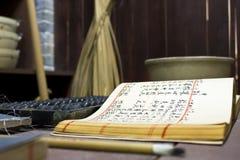 Vieux système chinois Image libre de droits