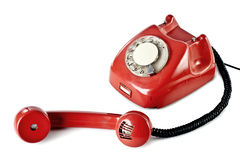 Vieux téléphone Image libre de droits