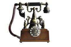 Vieux téléphone Images stock