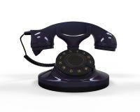 Vieux téléphone de cru Photos stock