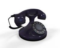 Vieux téléphone de cru Photo libre de droits