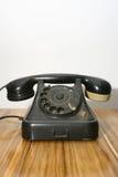 Vieux téléphone de téléphone Photographie stock