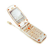 Vieux téléphone portable illustration de vecteur