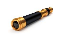 Vieux télescope Photos stock