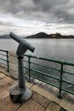 Vieux télescope Photographie stock libre de droits