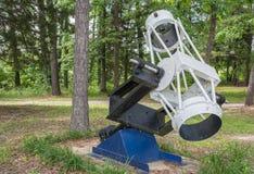 Vieux télescope Photos libres de droits