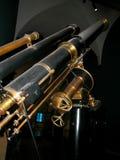 Vieux télescope italien du siècle IX photographie stock