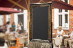 Vieux tableau noir Photo stock