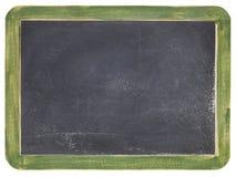 Vieux tableau noir d'ardoise Photo stock