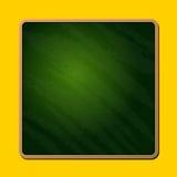 Vieux tableau vert vide d'école Vecteur Images libres de droits