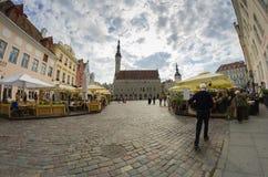 Vieux Tallinn Photographie stock