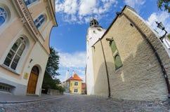 Vieux Tallinn Photo libre de droits