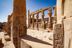 Vieux temple égyptien Philae à Assouan photos libres de droits