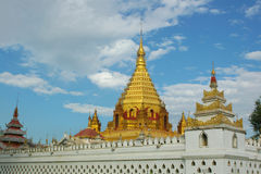 vieux temple bouddhiste Images libres de droits