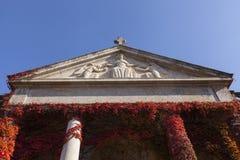 Vieux temple chrétien photographie stock libre de droits