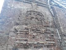 Vieux temple de Khmer photographie stock