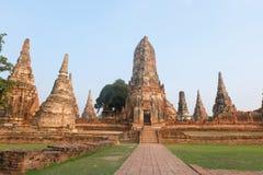 Vieux temple de palais Photos stock