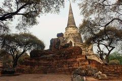 Vieux temple de palais Image stock