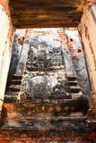 Vieux temple ruiné d'Ayutthaya, Thaïlande, Images stock