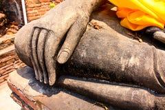 Vieux temple ruiné d'Ayutthaya, Thaïlande, Photo libre de droits