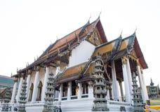 Vieux temple thaï Images libres de droits