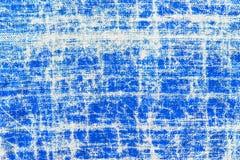 Vieux textile bleu texturisé Images libres de droits